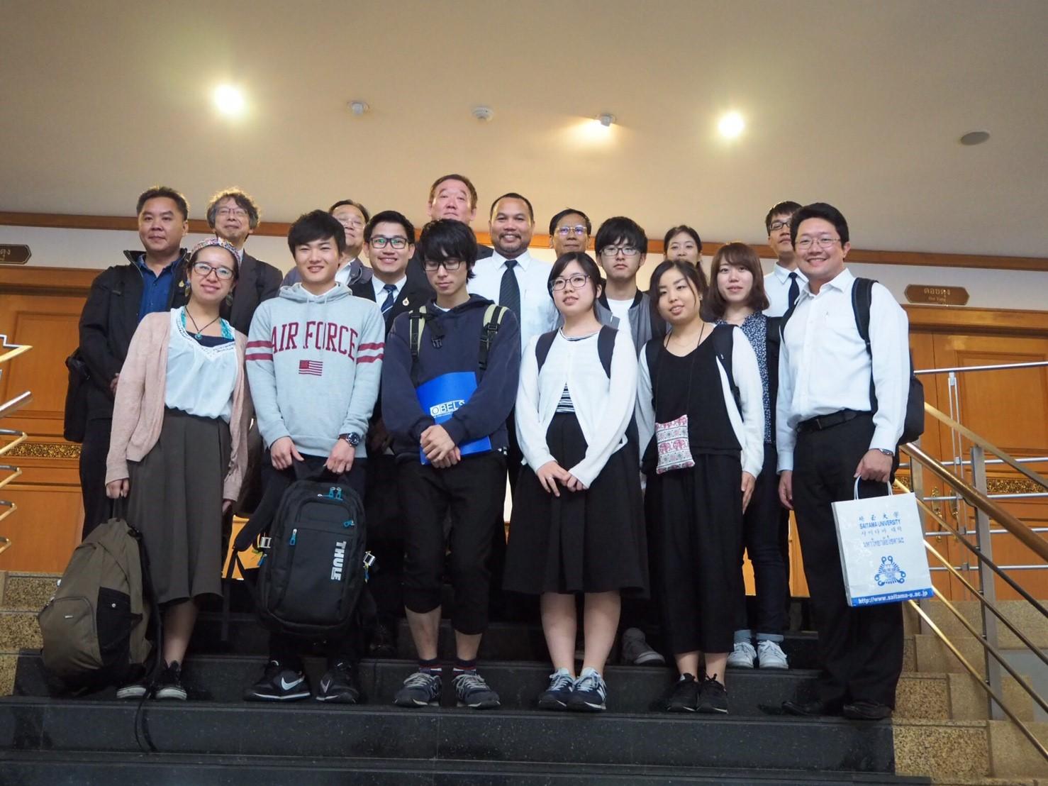 ม.ไซตามะจากญี่ปุ่นร่วมประชุมรือความร่วมมือ/ฟังบรรยาย